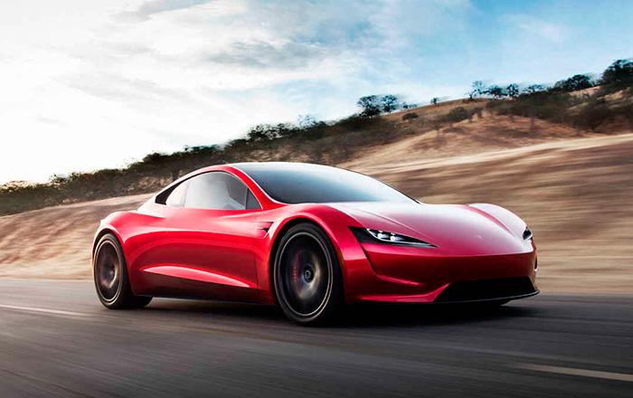 Электромобиль Tesla Roadster – теперь мечта всех.