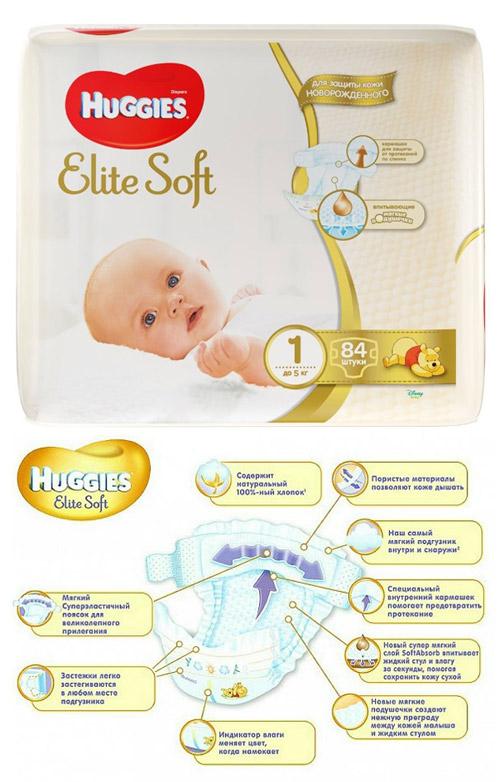 Huggies – лучшие подгузники для новорожденных рейтинга 2020 года.