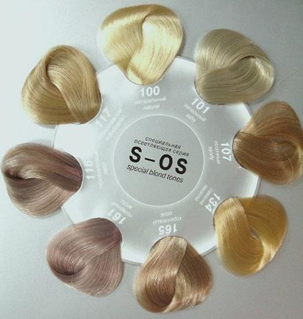 Палитра крем-красок для волос Estel Princess Essex S-OS.