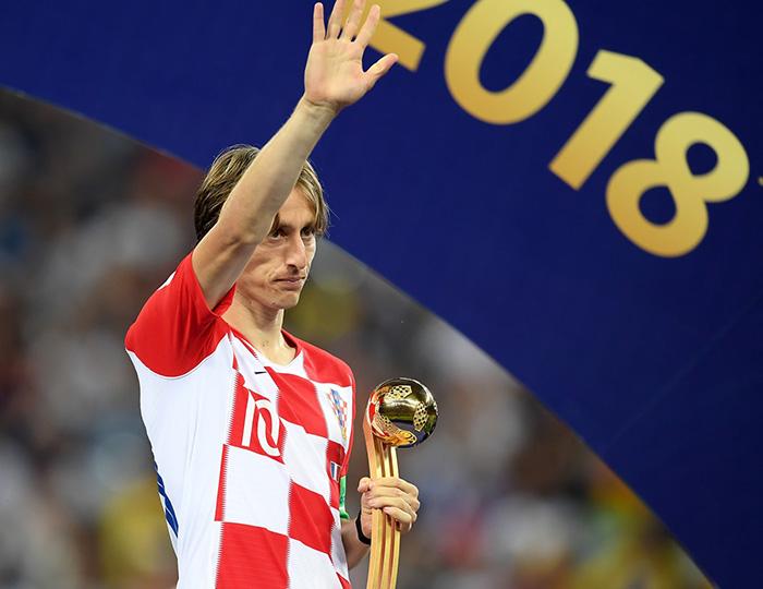 РИС: Лука Модрич – лучший игрок чемпионата мира по футболу 2018