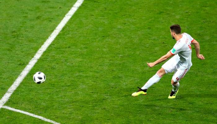 Третий гол НАЧО в матче Испания – Португалия.
