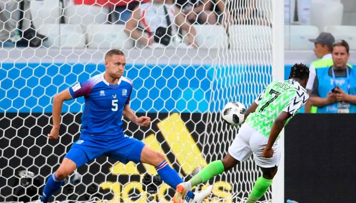 Второй гол Ахмеда МУСА в матче Нигерия – Исландия.