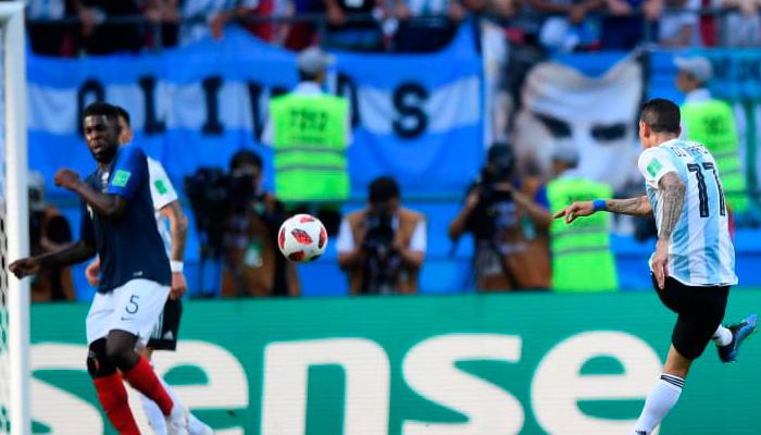 Первый гол Анхеля ДИ МАРИЯ в матче Аргентина – Франция.
