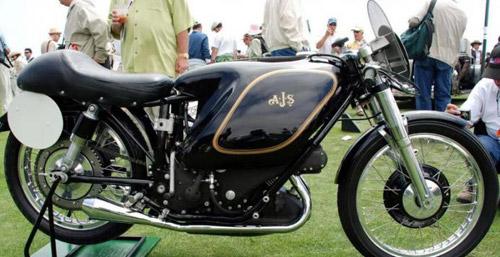 Фото. E90 AJS Porcupine – самый дорогой мотоцикл в мире.