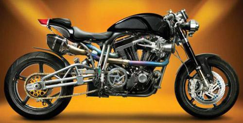 Фото очень быстрого байка Ecosse Titanium серии FE Ti XX.