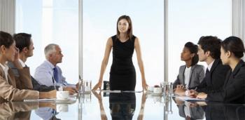 Женщина-начальник и лидерство