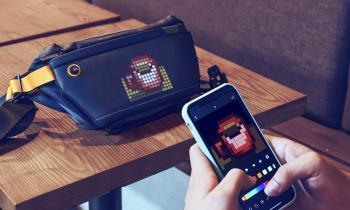 Divoom Pixoo Sling Bag: креативная водонепроницаемая сумка с экраном для анимации