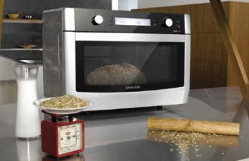 Микроволновые печи Samsung OmniPro сами взвесят еду