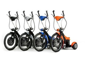 Голландская компания Urban Mobility Europe представила трицикл Qugo