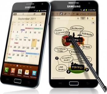Смартфоны Samsung Galaxy Note обзавелись блокнотом S Memo