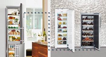 Система HomeDialog способна управлять всеми холодильными устройствами Liebherr, как единым целым