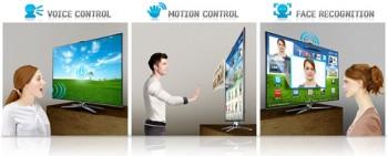 Технология Smart Interaction – новые телевизоры распознают голос, жесты и узнают хозяев в лицо