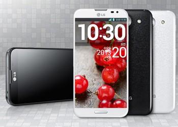 Представлен смартфон LG Optimus G Pro