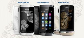 Телефоны Nokia Asha к весне обзаведутся шармом
