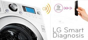 Smart Diagnosis – диагностировать стиральные машины LG теперь можно дома через мобилку