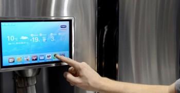 Новый холодильник Samsung T9000 будет оснащен компьютером с ОС Linux