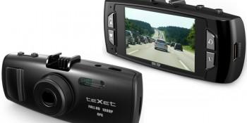 Автомобильный видеорегистратор teXet DVR-2GP