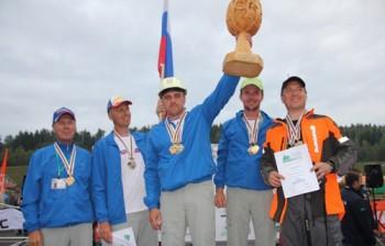 Husqvarna 576 XP в руках чемпиона мира среди вальщиков леса 2012