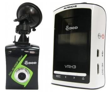 Автомобильный видеорегистратор DOD VRH3