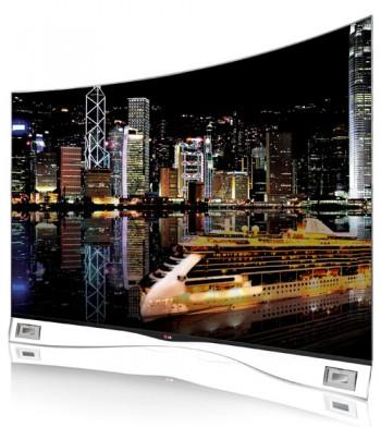 LG Curved OLED TV – телевизор с изогнутым экраном