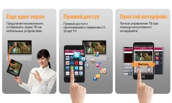LG TV Remote – приложение для смартфонов для управления телевизором