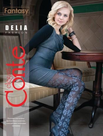Фантазийные колготки Conte elegant Delia