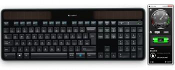 Logitech Solar App – контроль питания клавиатуры
