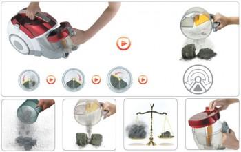 Технология KOMPRESSOR Plus для пылесосов LG