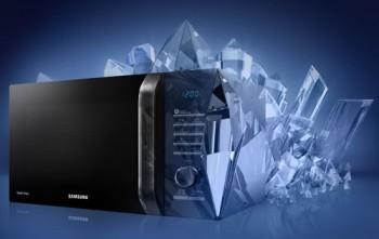 Новые СВЧ Samsung и дизайн Crystal Gloss