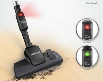 Датчик пыли Dust Sensor автоматически укажет загрязненные и очищенные участки