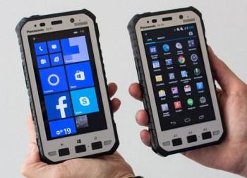 Защищенные планшеты Panasonic Toughpad FZ-E1 и FZ-X1
