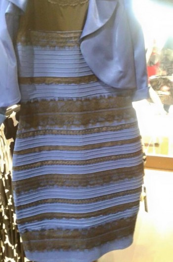 Какой цвет платья?