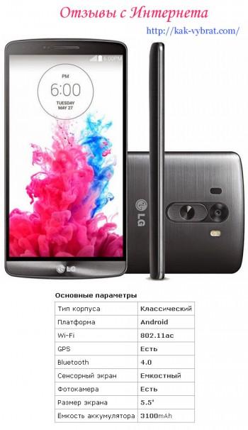 Отзывы о LG G3
