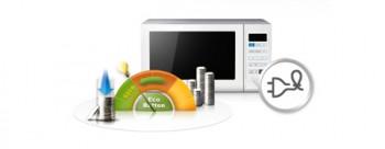 Eco Button – кнопка экономии для микроволновой печи Samsung