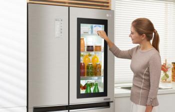 InstaView – подсветка SbS холодильников LG