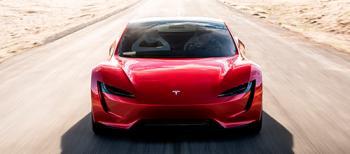 Автомобиль Tesla Roadster вышел в космос